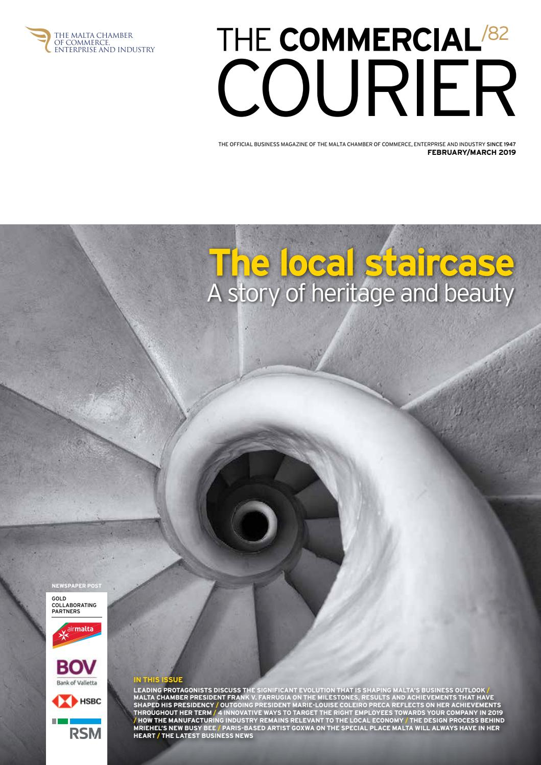 The Commercial Courier February/March 2019 by Content House Group