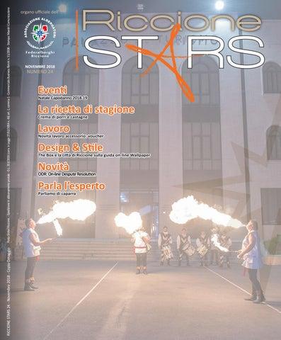 RICCIONE STARS novembre 2018 by ALBERGATORI RICCIONE - issuu
