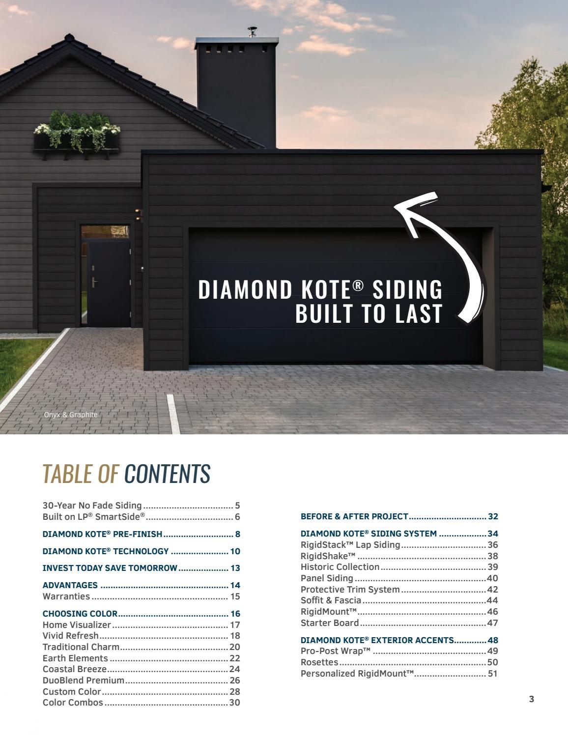 Diamond Kote Consumer Catalog | 2019 by Wausau Supply - issuu