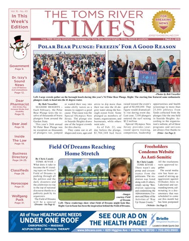 2019 03 02 The Toms River Times By Micromedia Publicationsjersey