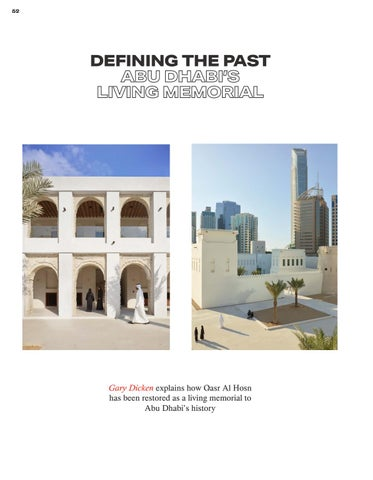 Page 52 of Defining the Past - Abu Dhabi's Living Memorial