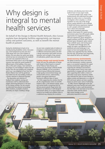 Page 29 of Why design is integral to mental health services