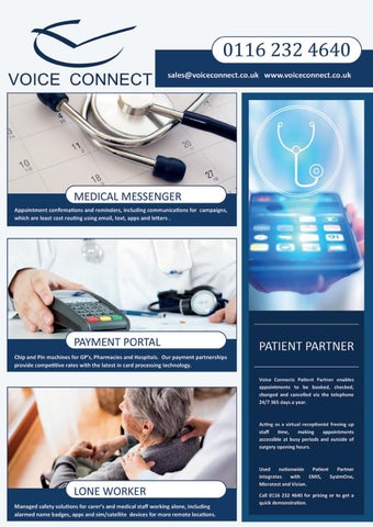 Page 38 of Technology's potential to revolutionise patient care