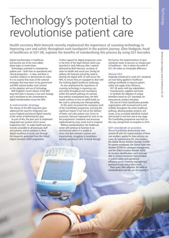 Page 39 of Technology's potential to revolutionise patient care