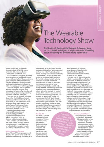 Page 47 of The Wearable Technology Show