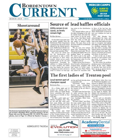 Bordentown Current | March 2019 by Community News Service
