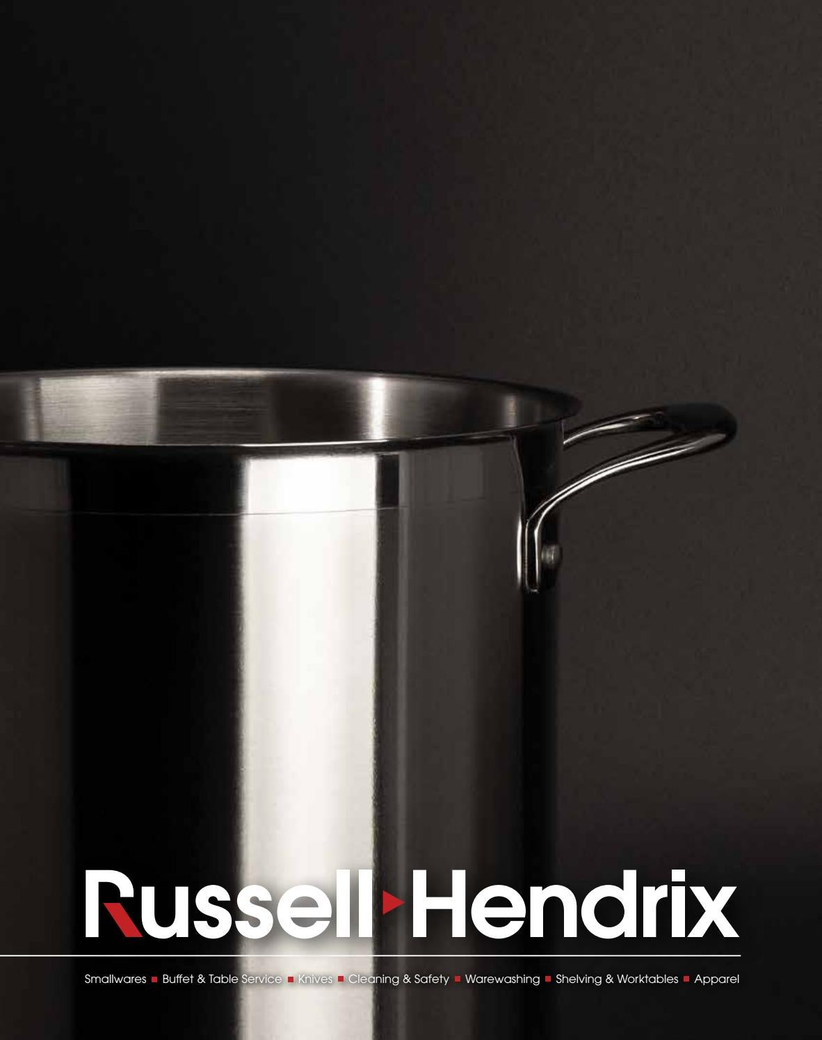 Russell Hendrix Smallwares Catalogue by Russell Hendrix Foodservice  Equipment   Supplies - issuu 48c52b605525