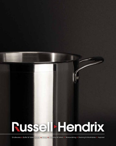 71314c674 Russell Hendrix Smallwares Catalogue by Russell Hendrix Foodservice ...