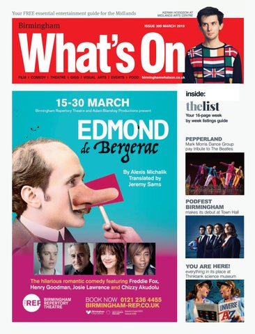 a45db3f6dffe Birmingham What s On March 2019 by What s On Magazine for Birmingham ...