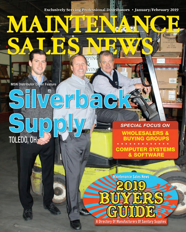 Jan/Feb 2019 Maintenance Sales News by Maintenance Sales