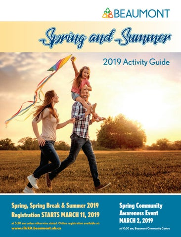 Beaumont Spring and Summer 2019 Activity Guide by Beaumont