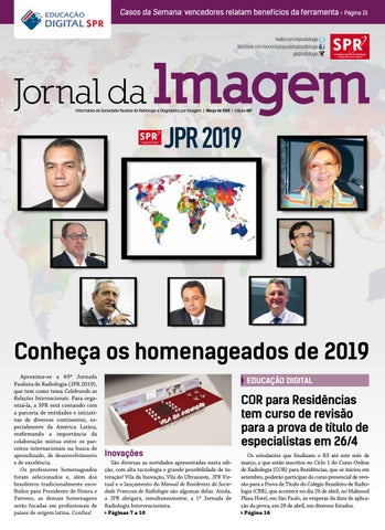 ji de março de 2019 ed 487 by sociedade paulista de radiologia487 Curso Mestre De Obra #8