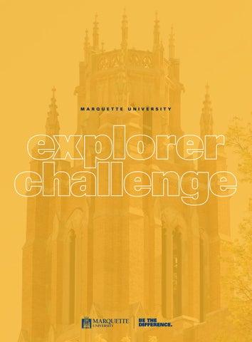 Marquette University Explorer Challenge 2019