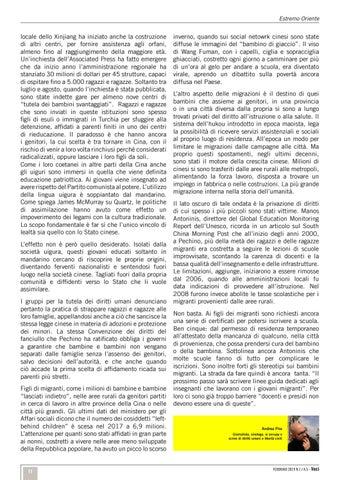 Page 11 of La Cina e i minori uiguri /Estremo Oriente