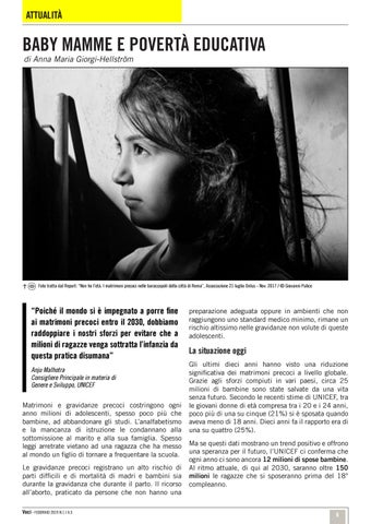 Page 6 of Baby mamme e povertà educativa /Attualità