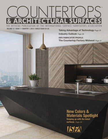 ISFA's Countertops & Architectural Surfaces Vol  12, Issue 1