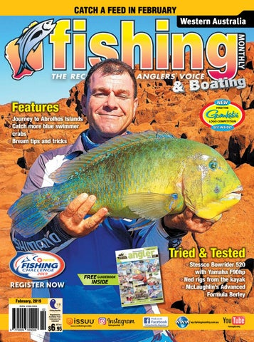 8fa7fdae Western Australia Fishing Monthly February 2019 by Fishing Monthly ...