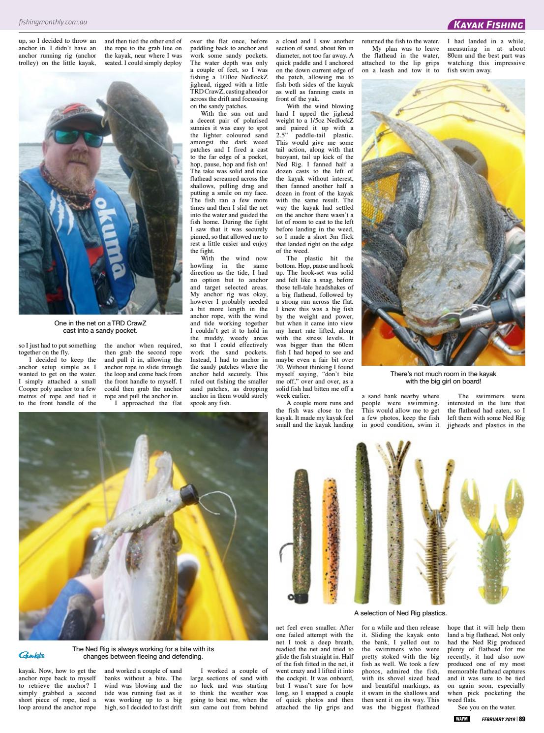 Western Australia Fishing Monthly February 2019 by Fishing