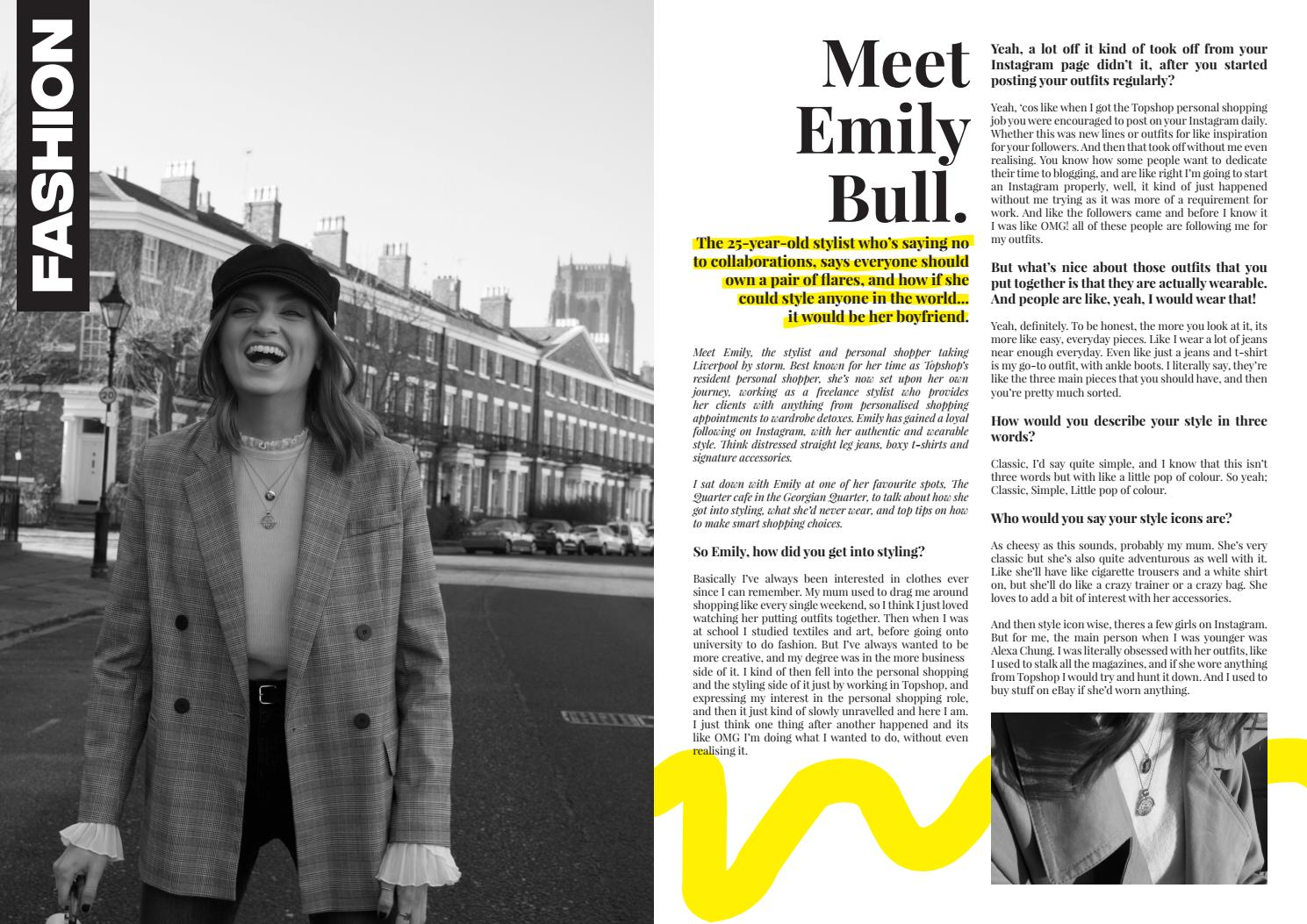 9863c97651d5f Emily Bull Interview by Llinos Peters - issuu