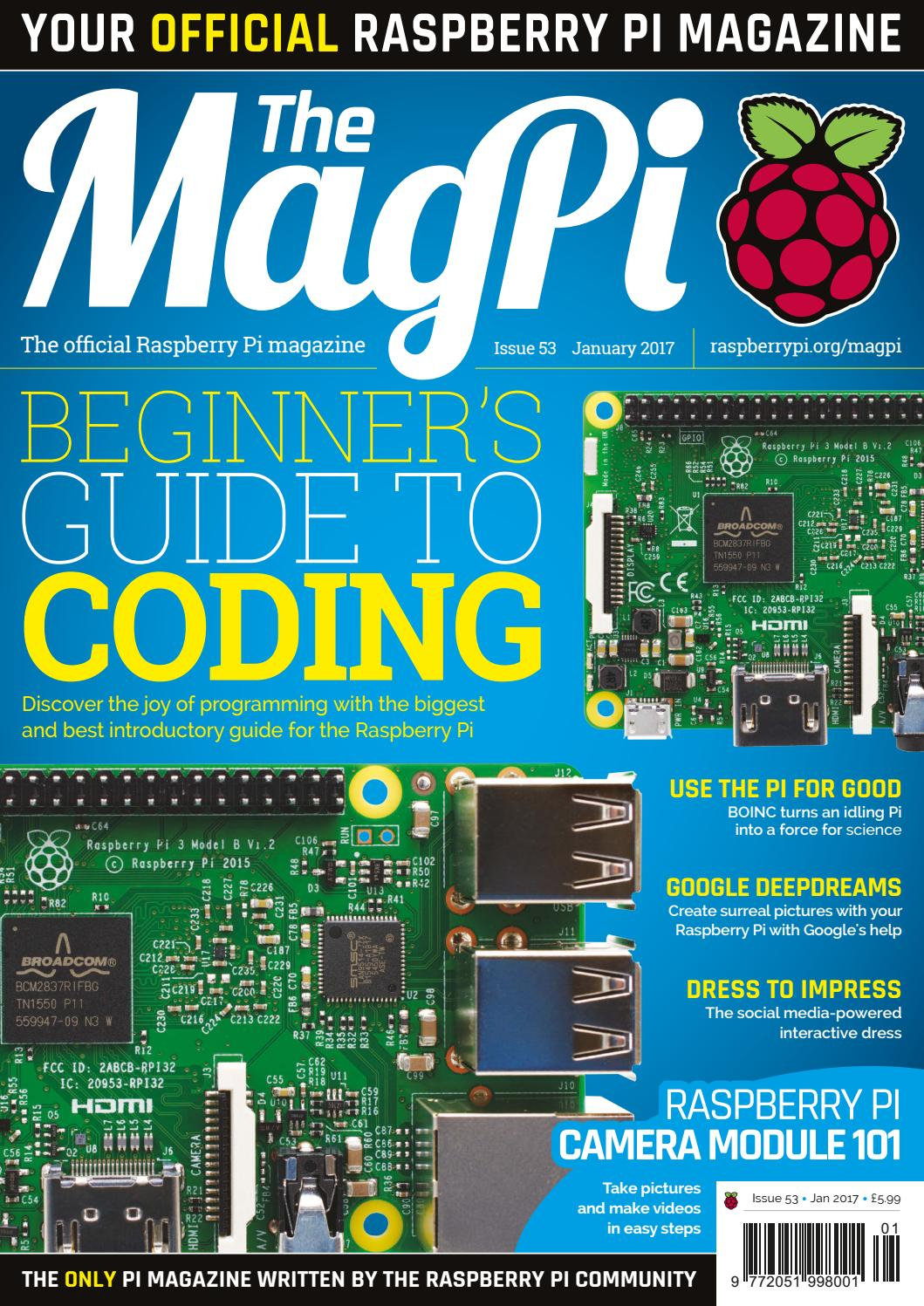 magpi 53 by Frans Kouwenhoven - issuu