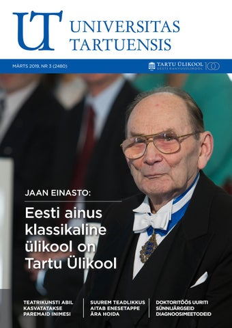 c3204f75c71 UT märts 2019 by Universitas Tartuensis - issuu