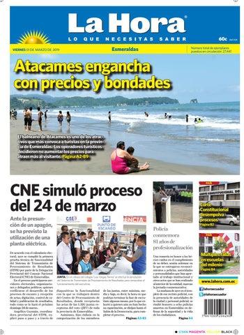 Esmeraldas 1 de marzo del 2019 by Diario La Hora Ecuador - issuu 079a2bab85f