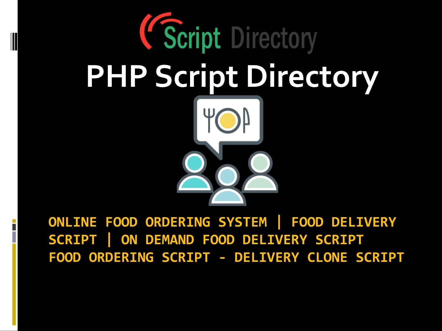 Where to find Top Food Delivery Script | On Demand Food