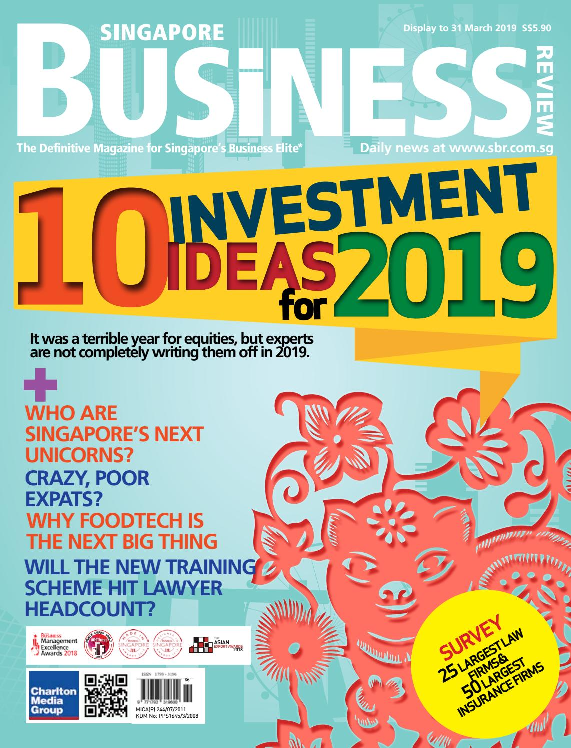 Singapore Business Review (January - March 2019) by Charlton