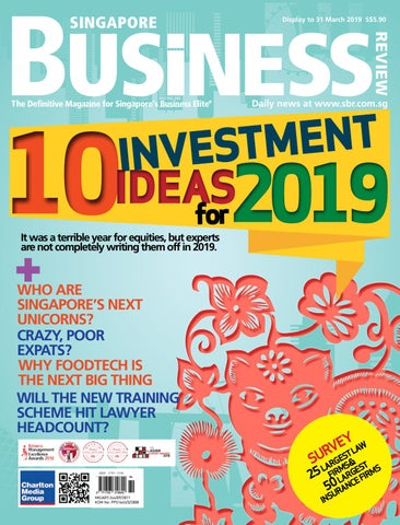 f721ee7438e Singapore Business Review (January - March 2019) by Charlton Media ...
