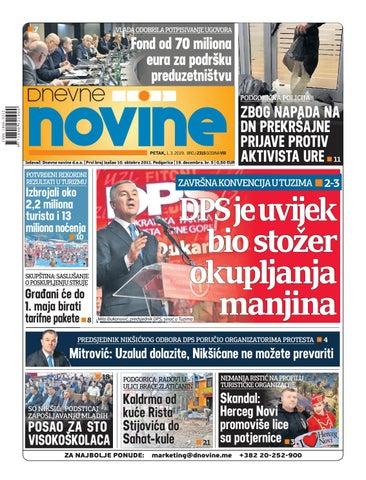 ed72ad3cbe8e Dnevne novine 1. mart 2019. by Dnevne Novine - issuu