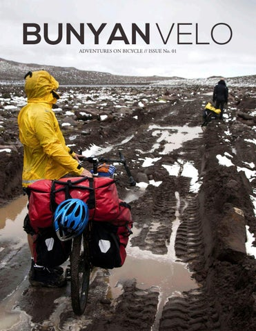 Page 1. BUNYAN VELO ADVENTURES ON BICYCLE    ISSUE No. d4a891bec