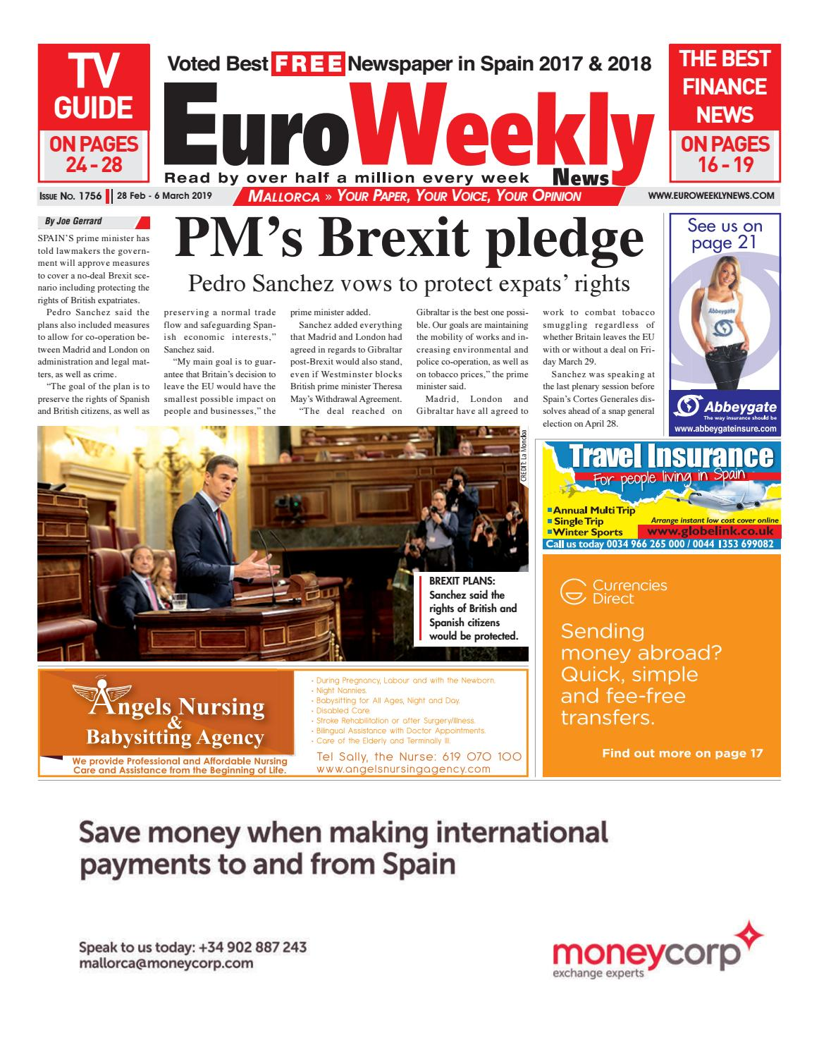 80d94405078ef Euro Weekly News - Mallorca 28 February - 6 March 2019 Issue 1756 by ...