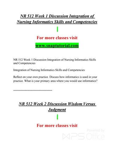 Nr 512 Enhance Teaching Snaptutorial Com By Richardsonmac