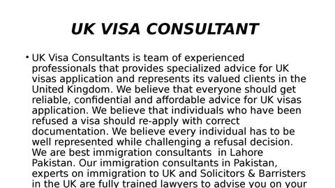 immigration consultants in Pakistan by UK visa - issuu