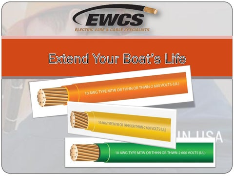 Strange Extend Your Boats Life By Electrical Wire Cable Specialists Issuu Wiring Digital Resources Funapmognl