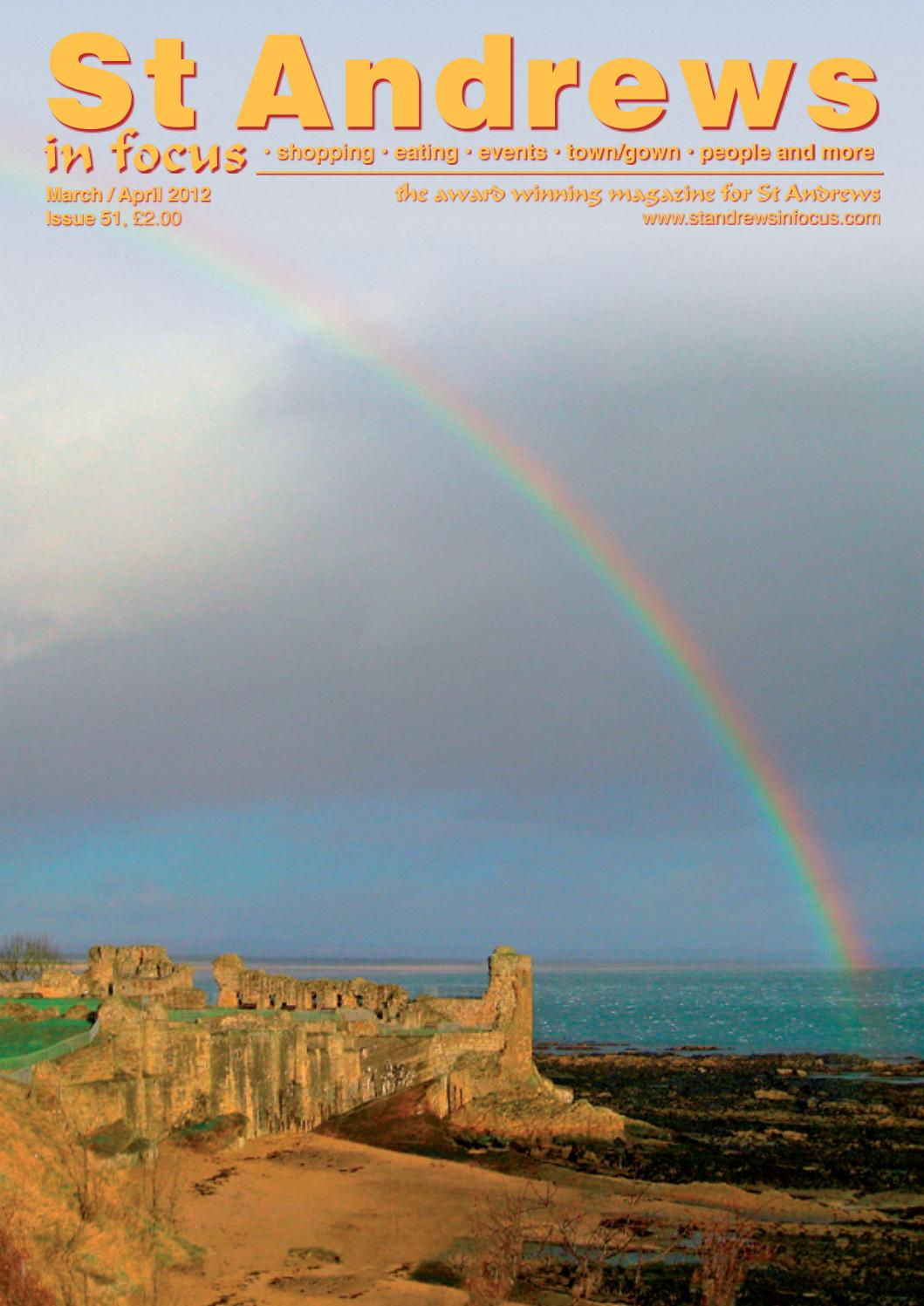 St Andrews in Focus Issue 51 Mar Apr 2012 by Mike Collins