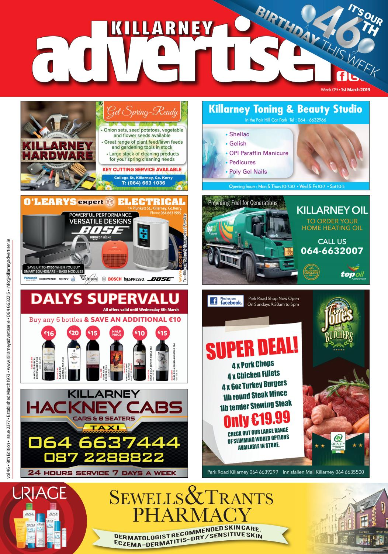 3a6671a7db711 Killarney Advertiser 1st March 2019 by Killarney Advertiser - issuu