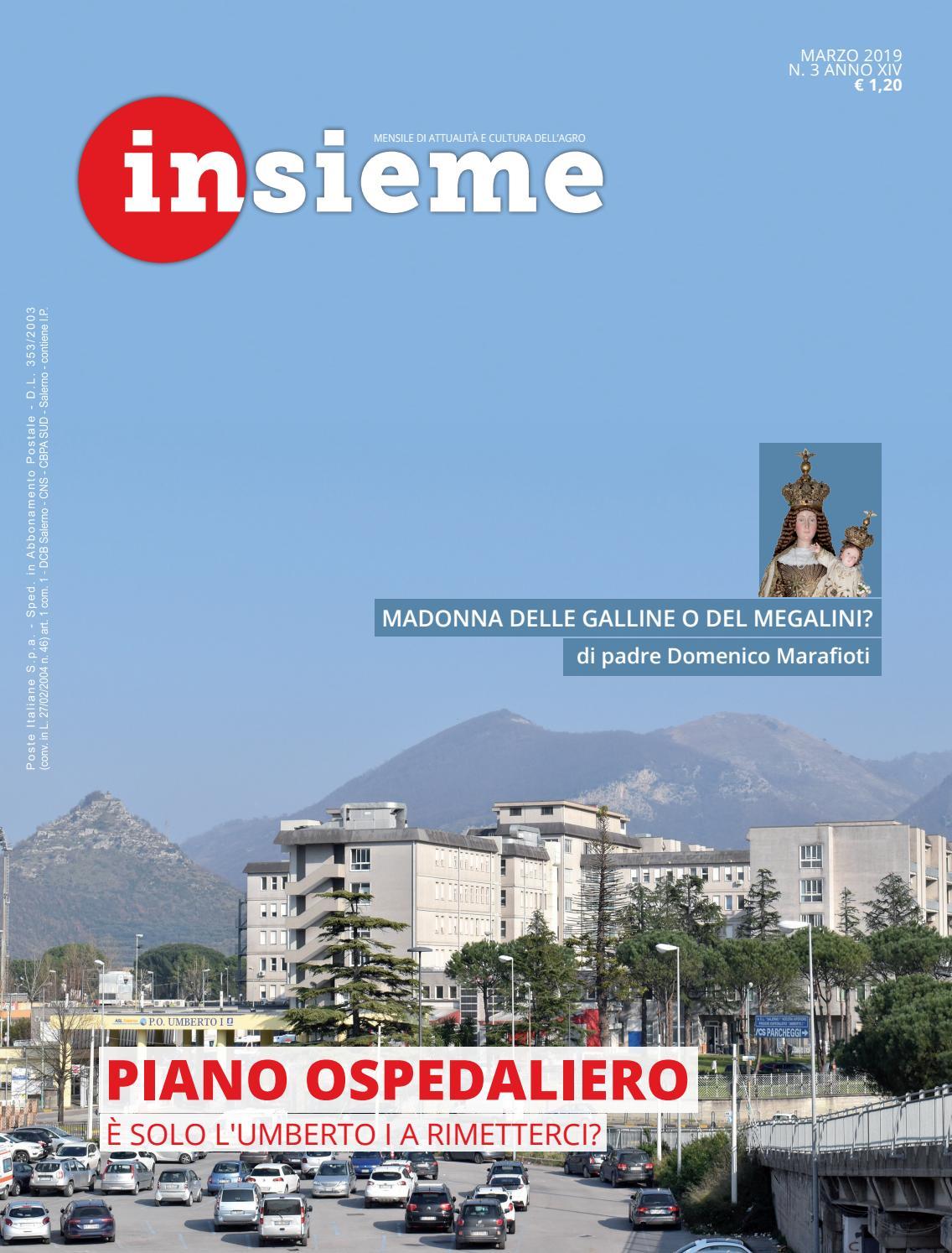 Insieme Marzo 2019 by Diocesi Nocera Inferiore Sarno issuu