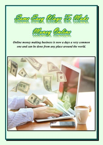 How To Make Money Online In Usa By Tadedragi9 Issuu