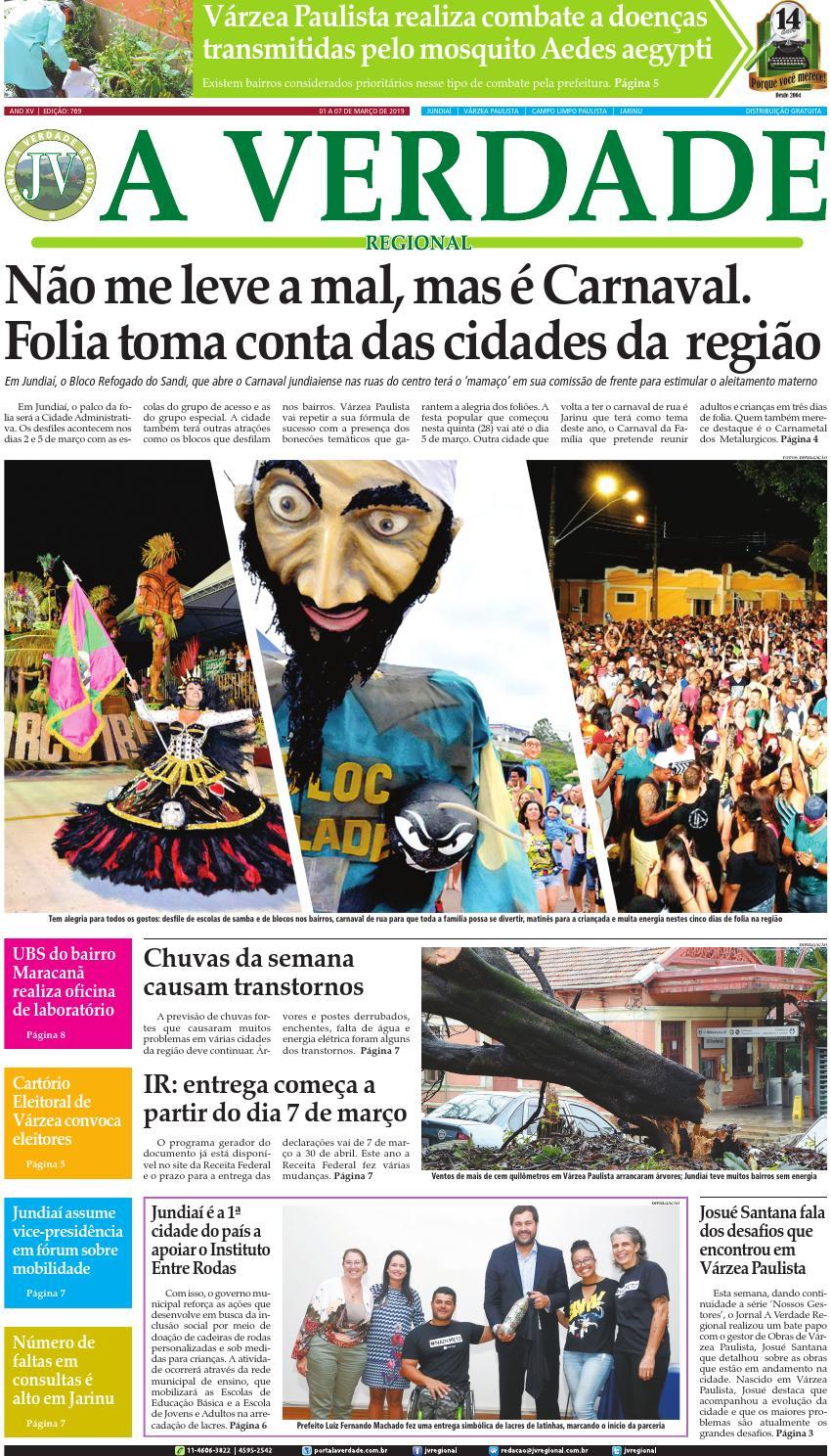 71ef79a2c JV Regional ® - Edição 769 by Jornal A Verdade Regional - issuu