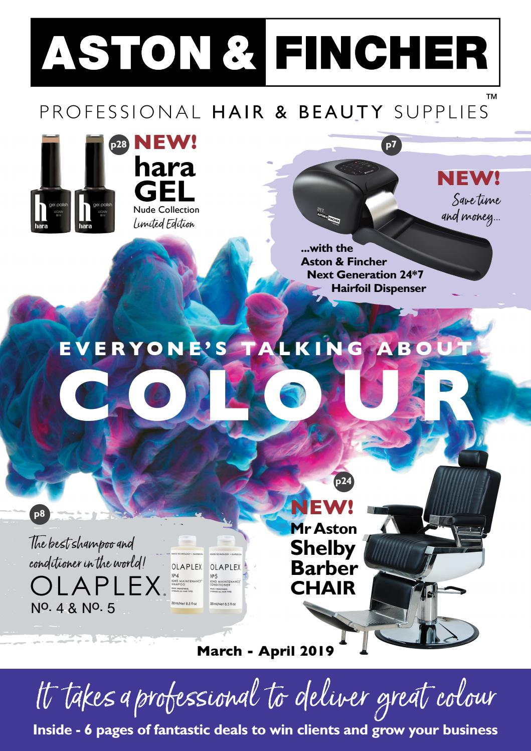 Mar - Apr 2019 Aston & Fincher Hair and Beauty Booklet by