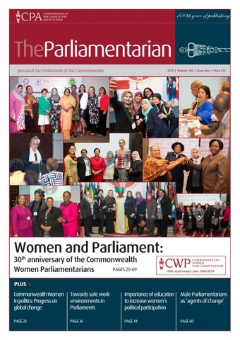 0a8dfcacb688 The Parliamentarian  2019 Issue One - CWP at 30 by The ...