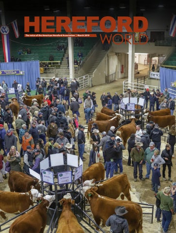 0b12ca071f March 2019 Hereford World by American Hereford Association and ...