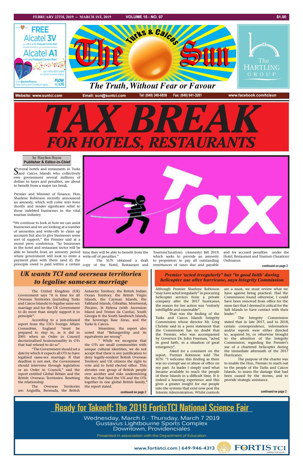 cba40987ca9a VOLUME 15 ISSUE 07 by The SUN Newspaper - issuu