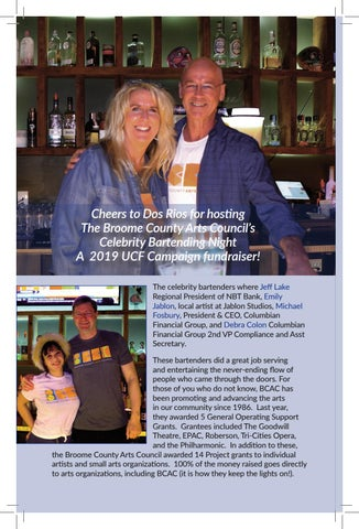 Page 10 of  Broome County Arts Council's Celebrity Bartending Night