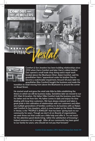 Page 6 of Comfort & Son Jewelers IS VESTAL (I AM VESTAL)