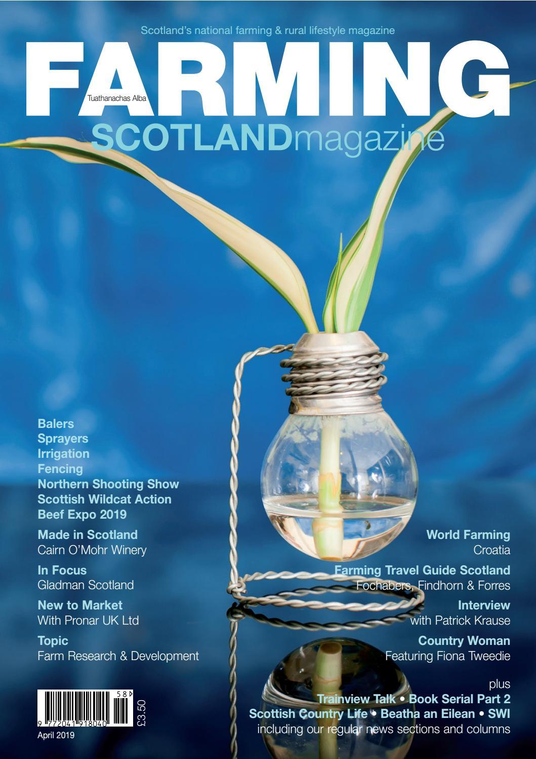 Farming Scotland Magazine (March - April 2019) by Athole
