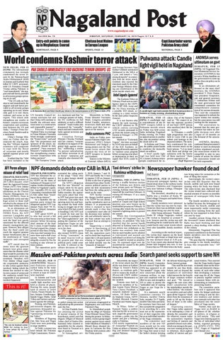 February 16, 2019 by Nagaland Post - issuu