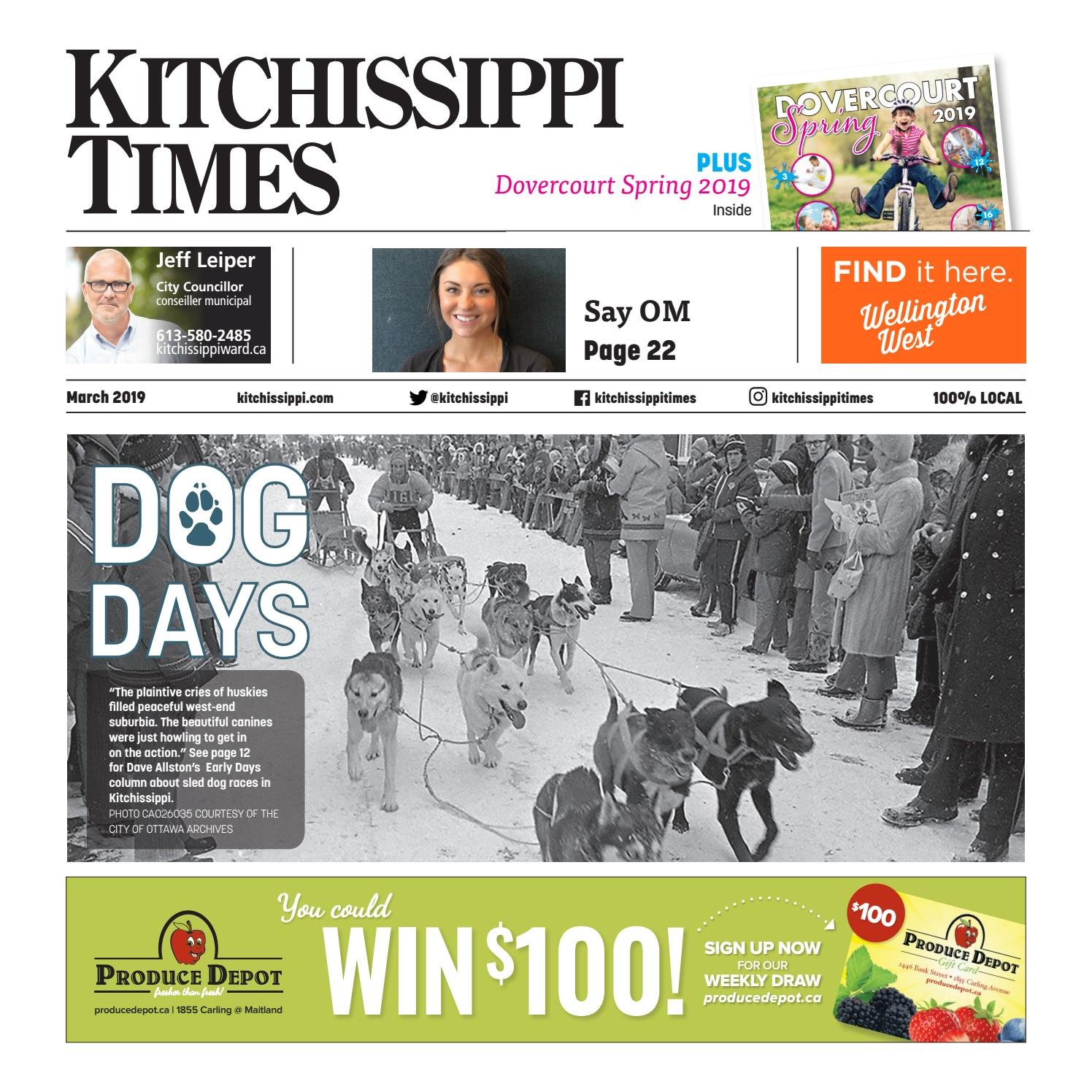 Kitchissippi Times March 2019 by Great River Media inc  - issuu