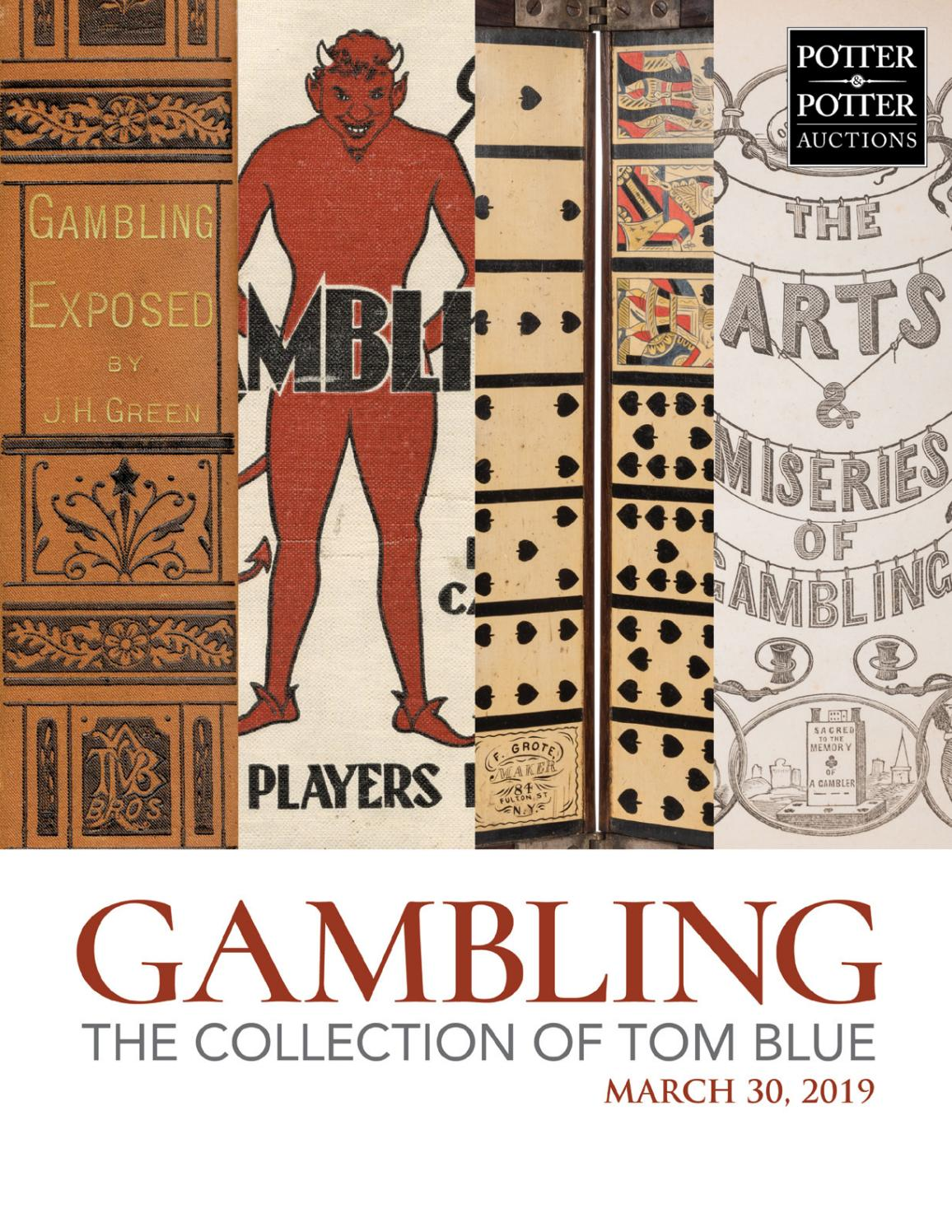 5231f802a Gambling - The Collections of Tom Blue by PotterAuctions - issuu